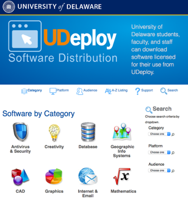 UDeploy screen shot